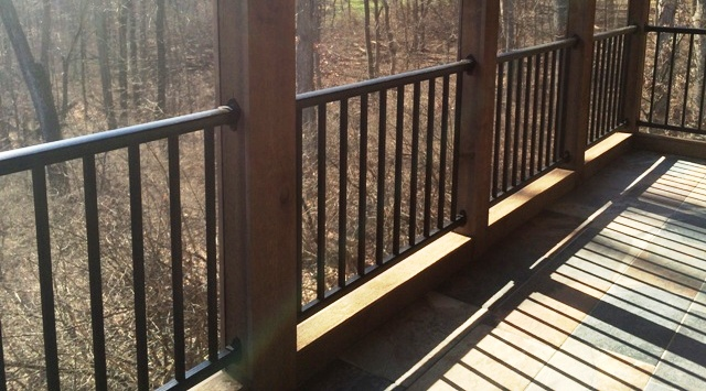 Railings And Patio Enclosures In Cincinnati Oh And