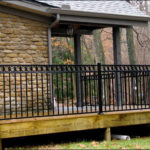 Porch Railing in Black