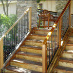 Wood Railing w/ Spindles