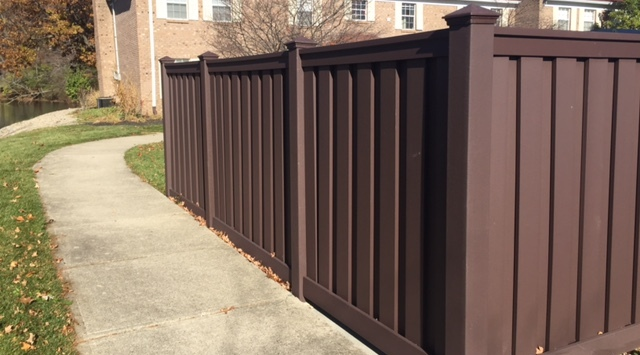 Trex Seclusions Privacy In Woodland Brown