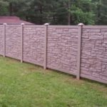 6′ Tall Light Brown Simtek Privacy