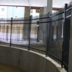 Interior Black Aluminum Fence